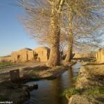 نمایی از حاشیه چشمه مزینان