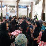 اهدای هدایایی به گروهی از زنان روستای کاهک