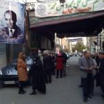 هیئت کاهکی های مقیم تهران، خیابان ایرانمهر خیابان صفا. ۱۳۹۴