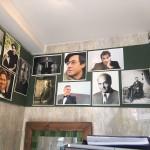تصویر شریعتی برروی دیوار کافی شاپ - تهران خیابان فرهمند - ۱۳۹۷