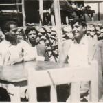۱۳۳۰، مشهد علی شریعتی با دوستان در دانشسرای عالی