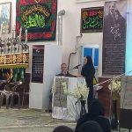 دکتر ربابه مزینانی در مراسم سالگرد پوران شریعترضوی در مسجد مزینان